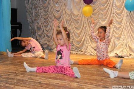 Прошел первый концерт детской балетной студии «Щелкунчик» Школы танца «Калейдоскоп».