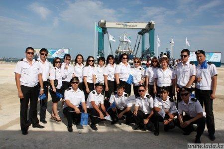 Национальная морская судоходная компания «Казмортрансфлот» в ожидании своих первых отечественных специалистов.