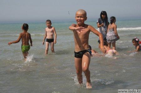 Акция «За безопасное детство» прошла в Актау.