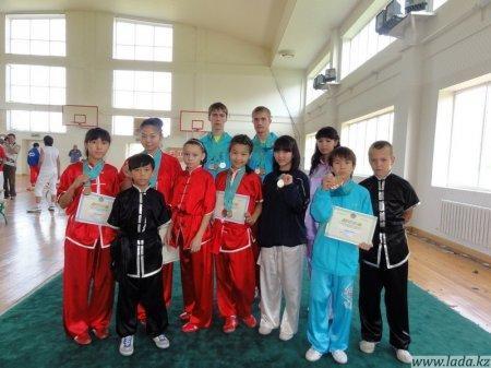Актауские ушуисты очередной раз продемонстрировали высокое мастерство на выездных соревнованиях.