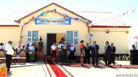 Об открытии социальных объектов в Каракиянском районе Мангистауской области