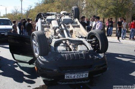 За полгода в Мангистауской области произошло 16 дорожных аварий с тяжкими последствиями, в них 25 человек погибли и 25 получили тяжелые увечья.