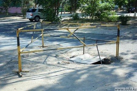 Ущерб от краж канализизационных люков в Актау за три месяца составил 5 млн. тенге