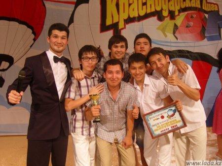 Сборная команда КВН «Каспийский Джем» заняла второе место на музыкальном фестивале «Кубок содружества» в Анапе