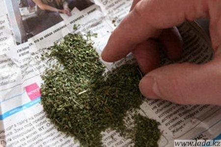 Более восьми килограммов марихуаны в своем гараже хранил житель Актау