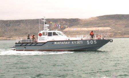 В Уральске спущен на воду новый катер для погранслужбы РК