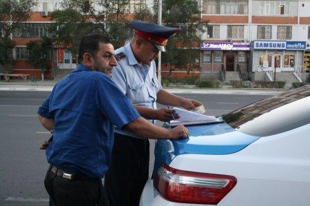 Водителю не по душе рейд дорожной полиции