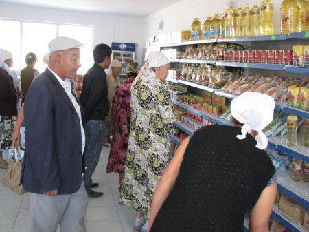 В Жанаозене открылся новый магазин, где продукты  реализуются  по сниженным ценам