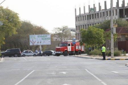 В Актау полицией перекрыты дороги между 1, 3 и 3 «а» микрорайонами