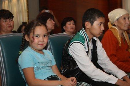 В Актау прошло чествование приемных семей