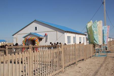 По программе «Нурлы Кош» в селе Батыр сдано в эксплуатацию 25 двухквартирных домов