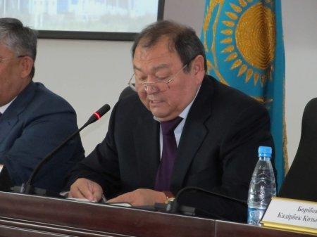 Ректор КГУТиИ Абдумуталип Абжаппаров