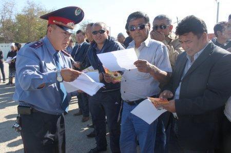 В Мунайлинском районе прошла традиционная акция «Приемная на дороге»