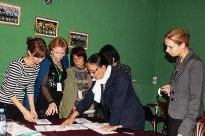 Участницы семинара борются за свои права пока только на бумаге