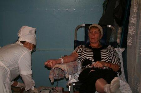 В Благовещенском храме Актау прошла акция «Больше крови, больше жизни»