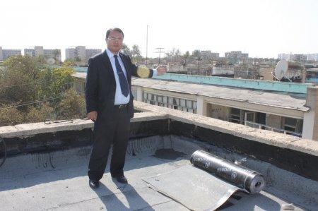Начался капитальный ремонт 156а дома в 3 микрорайоне Актау