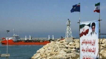 Иранский танкер на Каспии. Фото ©AFP