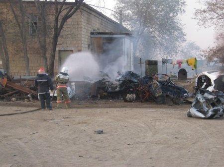 Актау в ядовитом мусорном дыму