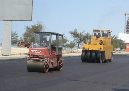 В рамках «Дорожной карты» в Актау построено две новых автодороги