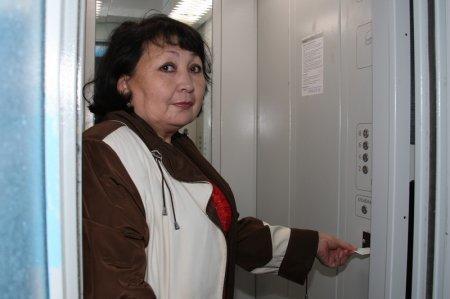 В Актау заработал еще один лифт