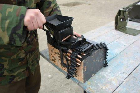 В Актау прошли учебные сборы наводчиков БТР