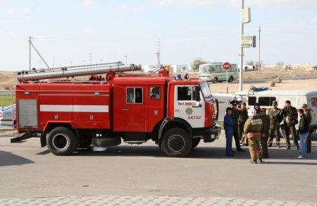 В торговом центре «Байтерек» города Актау злоумышленник оставил черный кейс, заявив, что внутри находится бомба