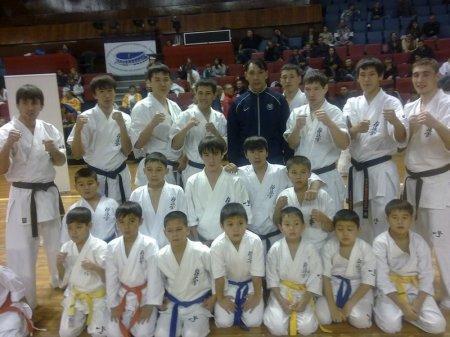 Актауские спортсмены успешно выступили на Чемпионате Европы по кекушинкай каратэ