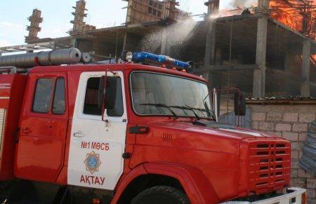 За текущие сутки в Мангистауской области произошел один пожар