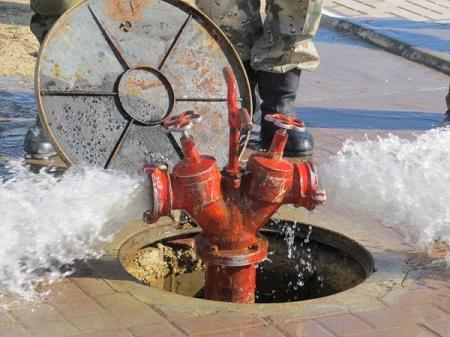 В акимате Мангистауской области не работают пожарные гидранты