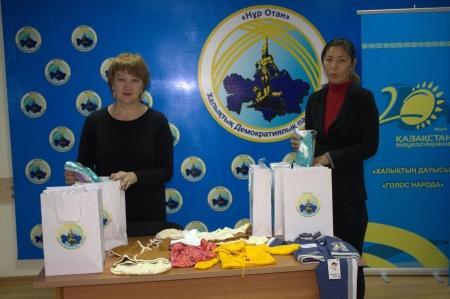 Акция «Тепло сердец» стартовала в Актау