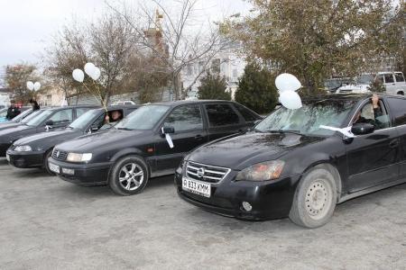 В Актау почтили память жертв дорожно-транспортных происшествий