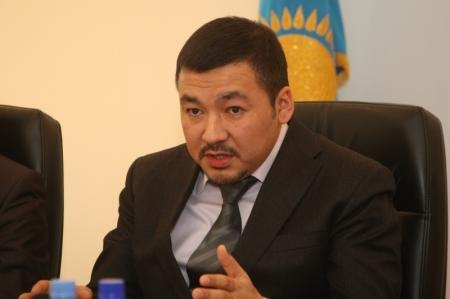 Глава Департамента таможенного контроля по Мангистауской области посетил строительство станции Болашак на границе с Туркменистаном