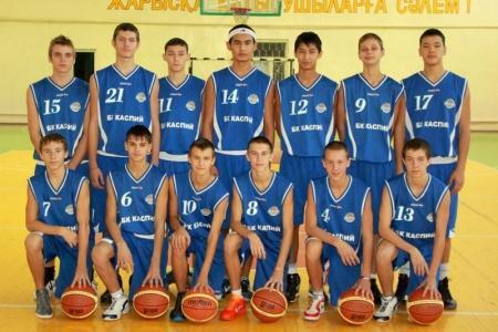 Молодежная команда баскетбольного клуба «Каспий» дебютировала в Европейской Юношеской Баскетбольной Лиге