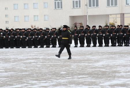 Морские пехотинцы Актауского гарнизона приняли присягу