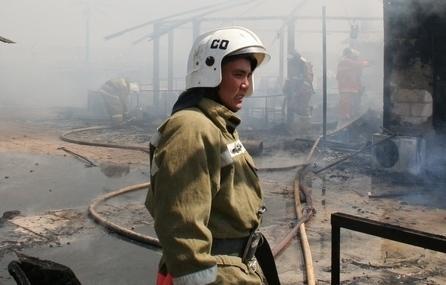 Гражданин Узбекистана погиб при пожаре в селе Бейнеу Мангистауской области