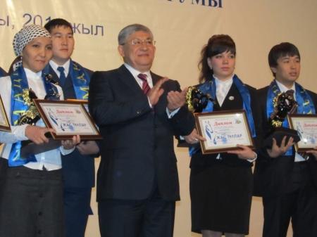 В Актау прошла церемония награждения победителей конкурса «Жас тулпар-2011»