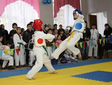 В Актау проходит открытый чемпионат по таэквондо