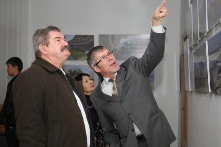 В историко-краеведческом музее Мангистауской области открылась выставка фоторабот Андрея Астафьева
