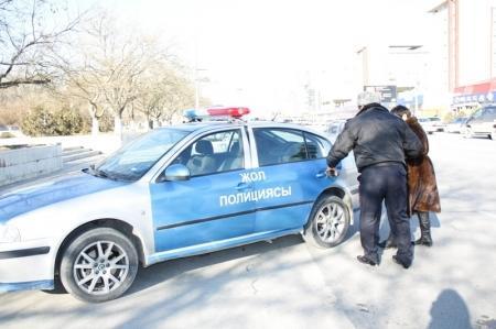 Дорожные полицейские Актау борются с пешеходами-нарушителями ПДД
