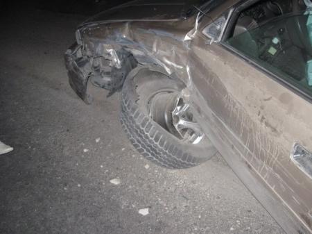 Тяжелые травмы в дорожной аварии получила девушка - водитель легкового автомобиля