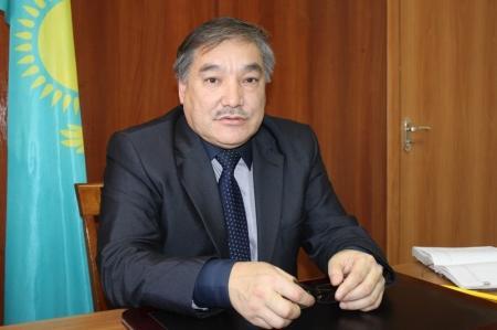 Директор средней школы №5 Аскар Досав