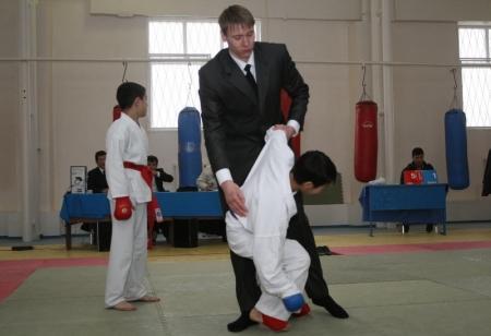 На станции Мангистау прошел турнир по каратэ-до