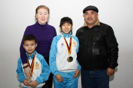 Актауские спортсмены приняли участие в международном турнире по ушу в Берлине