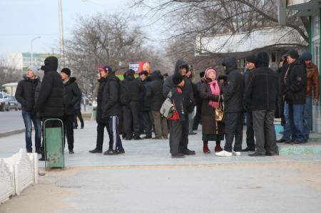 """Заявление одного из митингующих на площади """"Ынтымак"""" в Актау (ВИДЕО)"""