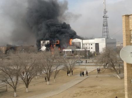 В ходе беспорядков производственные объекты «Озеньмунайгаз» не пострадали