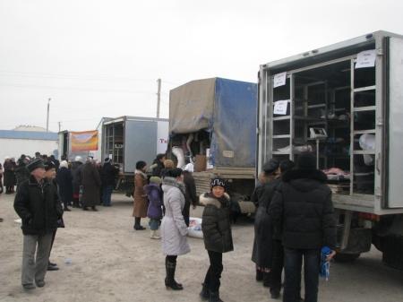 В Жанаозене в выходные дни  прошли  ярмарки  продовольственных товаров