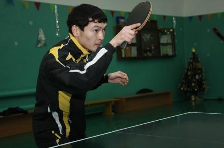 В актауской секции настольного тенниса заниматься можно бесплатно
