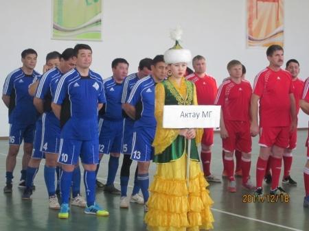 Актауская команда «Мобил Сервис» заняла второе место на турнире по мини-футболу в Атырау