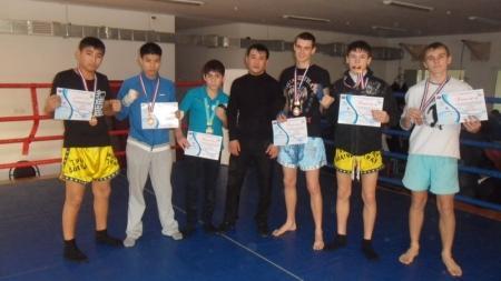 Воспитанники актауской школы муай-тай приняли участие в турнире в Атырау