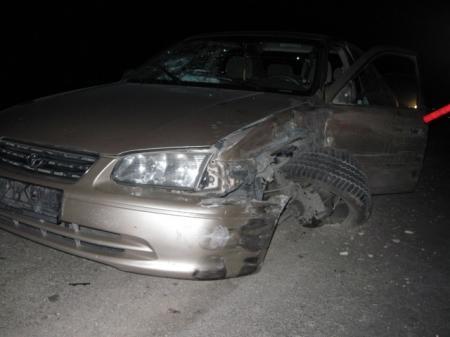 При столкновении «Тойоты» с тепловозом тяжелые травмы получила пассажирка автомобиля